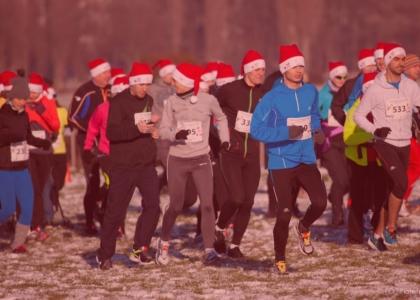 Bieg Mikołajów w Warszawie