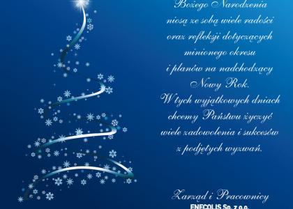 Zdrowych i Wesołych Świąt oraz Pomyślności w nadchodzącym Nowym Roku!